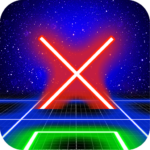 Tic Tac Toe Glow by TMSOFT MOD Unlimited Money Download